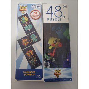 Toy Story 4 Dominoes and Toy Story 4 Puzzle 48 Pie
